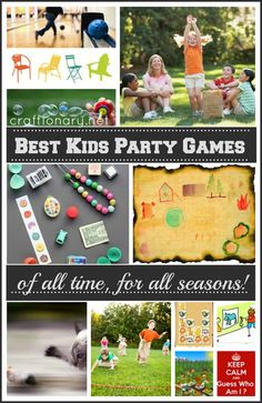 Best party games for kids and toddlers #birthdays #party #games