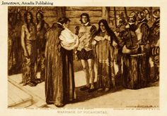 On this Day in History, April 5, 1614: Pocahontas married English tobacco planter John Rolfe in Jamestown, Virginia.