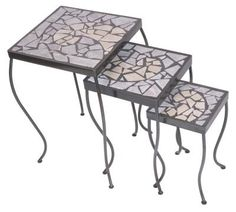 How to Make a Table Top Design With Broken Tiles
