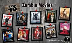 Voidcan.org brings you the list of top ten zombie movies and all the information regarding zombie movies which makes them best. List is researched by our movies experts.
