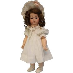 16 inch Antique German Bisque Toddler 115A Pouty Kammer & Reinhardt from turnofthecenturyantiques on Ruby Lane