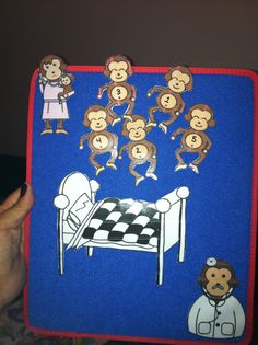 Five Little Monkeys, Visual Aids, Kids Songs, Therapy Ideas, Autism, Activities, Fictional Characters, Art, Art Background