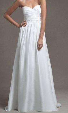 Simple BUT LOVELY & ELEGANT Wedding Dress Bridal Gown <3 It!