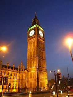 Big Ben in London, England first ticked on May 31st, 1859. It is now the largest four-faced chiming clock and the third tallest clock tower in the world.