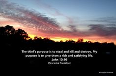 Life - John 10:10