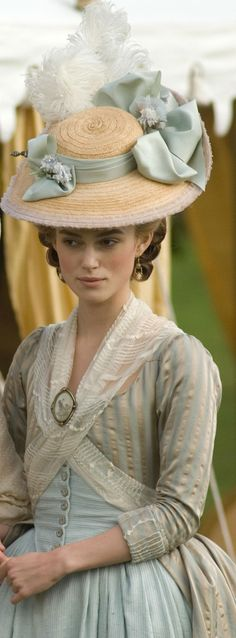 Keira Knightley as 'The Duchess'.