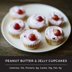 Peanut butter and jelly pair perfectly together... so combining two great things into something even greater... is amazing. Try this pb&j cupcake!