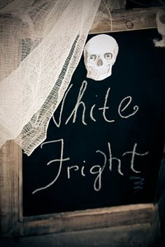White Fright Halloween