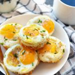 Sweet Potato Hash Egg Cups - Fit Foodie Finds