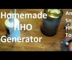 Homemade HHO Generator