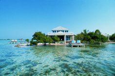 best all-inclusive resorts honeymoon: Cayo Espanto