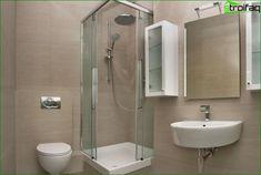 Fürdőszoba tervezés kis mérete a szoba, 50 fürdőszoba fényképet belső ötletek