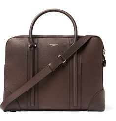 GIVENCHY Grained-Leather Briefcase £1,939.66 / Approx. AUD $3,103.48 Depth: 7cm Handle Length: 12cm Height: 28cm Width: 37.5cm