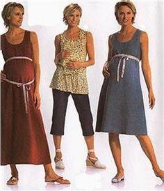 Burda Maternity Dress Pattern