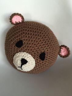 Brauner Bär häkeln von PeanutButterDynamite auf Etsy