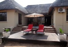 Lituba Place - Marloth Park, Kruger National Park & Lowveld, Mpumalanga  This self catering cottage is a 6-sleeper thatched getaway, complete with a private plunge pool, braai area and waterhole which is frequently visited by kudu, warthog, zebra and a variety of bird life. Indulge yourself in the comfort of this cosy, well-equipped, self-contained accommodation set in the African bushveld.  See more of Lituba Place on http://www.wheretostay.co.za/litubaplace