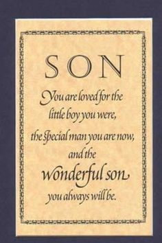 happy birthday wishes to my son quotes Mother Son Quotes, My Son Quotes, Wish Quotes, Quotes For Kids, Happy Quotes, Funny Quotes, Heart Quotes, Quotes Children, Husband Quotes