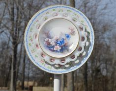 I just listed White Blue and Pink Butterfly Glass Garden Art on The CraftStar @TheCraftStar #uniquegifts