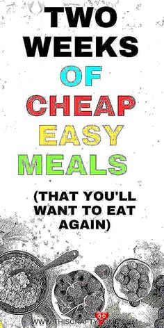 Cheap easy meals on a budget! Two whole weeks worth of cheap meals on a budget #recipes easy dinner healthy<br> Healthy Snacks To Buy, Healthy Toddler Snacks, Healthy Pasta Recipes, Healthy Pastas, Easy Healthy Dinners, Health Recipes, Easy Dinners For Two, Cheap Easy Meals, Quick Easy Meals