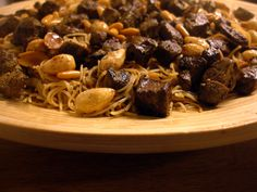 Libyan food bakbooky the best pasta out there libyan food this pasta dish is a famous shargawi recipe and is often served at weddings in eastern libya thin pasta is lightly grilled until gol forumfinder Choice Image