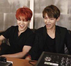Jimin and taehyung <3