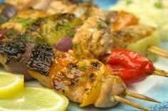 Solomos-Lemoni-Moustarda_060717_0328 Potato Salad, Salmon, Potatoes, Chicken, Meat, Cooking, Ethnic Recipes, Food, Kitchen