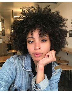 Natural Hair Cuts, Natural Afro Hairstyles, Cool Hairstyles, Natural Hair Styles, Hair Curt, Short Curly Hair, Curly Hair Styles, Natural Hair Inspiration, Hair Journey