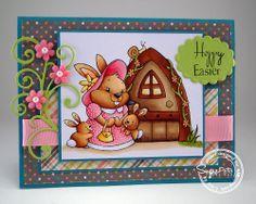 SugarPea Designs - One Big Hoppy Family by Tracy MacDonald