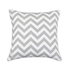 Chevron Pillow Slate Grey | dotandbo.com