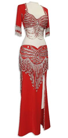 This is a fantastic belly dance outfit! @Jackie Nicole and @Ashleigh Smiley  Made me think of you guys.