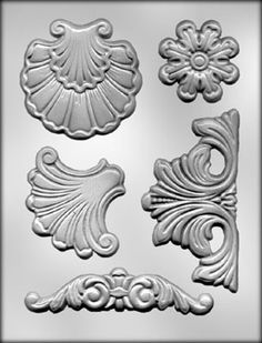 Plastic mold  baroque