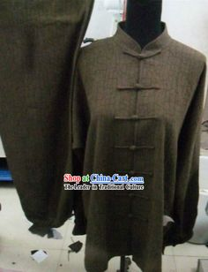 Traditional Chinese Kung Fu Cotton Uniforms          #477 - $159.00 - 11-Black
