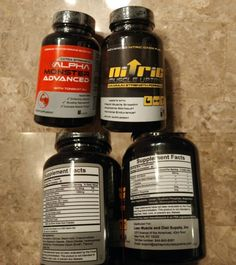 Sports Vitamins and Minerals: Alpha Monster Advanced + Nitric Muscle Uptake-60 Capsules Each-30 Day Supply -> BUY IT NOW ONLY: $69.99 on eBay!