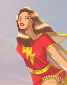 Mary Marvel by DESPOP.deviantart.com on @deviantART
