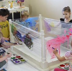 open-ended art will allow children to demonstrate exactly what is important to them. open-ended art will allow children to demonstrate exactly what is important to them. Painting For Kids, Art For Kids, Art Children, Painting Art, Paintings, Reggio Children, Children Painting, Painting Walls, Kids Crafts
