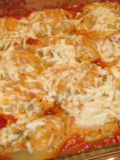 Pasta on Pinterest | Cheese Stuffed Shells, Bacon and Ricotta Gnocchi
