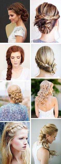 braid wedding hair styles Braided Hair Styles for Your Beach Wedding