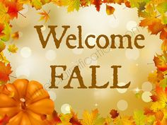 Welcome Fall 21 Free Fall Printables by ALittleClaireification.com #free #printables