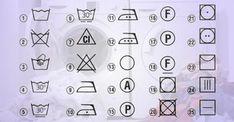 Správne pranie: Naučte sa, čo znamenajú štítky na vašom oblečení. POMÔCKA pre každého   Báječné Ženy