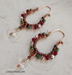 New from my work table. Artyzen Studio: Bohemian Earrings. www.artyzenstudio.blogspot.com