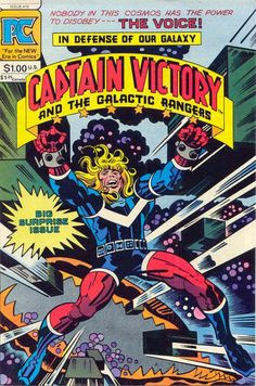 Captain Victory and the Galactic Rangers #10