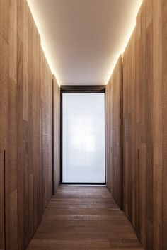 Loft MM is a e modern apartment in Bilzen, Belgium, by A. Architects was rebuilt in It used Corridor Lighting, Cove Lighting, Lighting Design, Interior Design Courses, Entry Hallway, Deco Design, Architect Design, Interior Architecture, Living Spaces