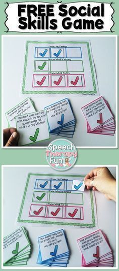 FREE social skills card game. Includes: 14 'What is wrong with this?' Cards, 14…