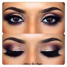 20 Amazing Makeup Tutorials for Blue Eyes via Polyvore featuring beauty products, makeup and eye makeup