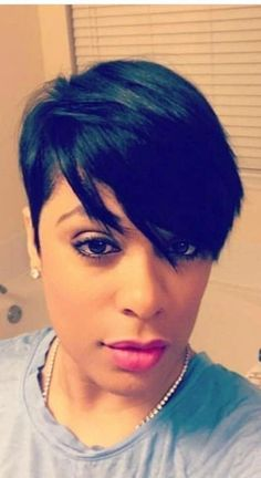 Just beautiful… missing my cut! - New Site - Just beautiful… missing my cut! Short Black Hairstyles, Bob Hairstyles, Braided Hairstyles, Black Pixie Haircut, Saree Hairstyles, Baddie Hairstyles, Hairstyles Videos, Bandana Hairstyles, School Hairstyles