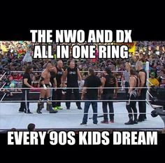 Triple H vs. Sting became DX vs. NWO at WrestleMania 31 - Awesome moment for every fan of the Attitude Era.