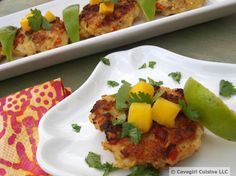 Curried Shrimp Cakes #lowcarb