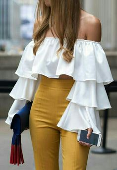 Summer Fashion For Ladies Over 50 .Summer Fashion For Ladies Over 50 Classy Dress, Classy Outfits, Stylish Outfits, Crop Top Outfits, Summer Outfits, Summer Dresses, Mode Kpop, Look Fashion, Womens Fashion