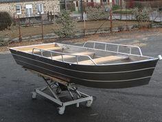 Modele 385 Aluminium canot Small boat Bote