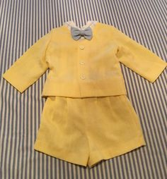 Vintage Toddler Boy Summer Suit Size 12 by JustClickThreeTimes